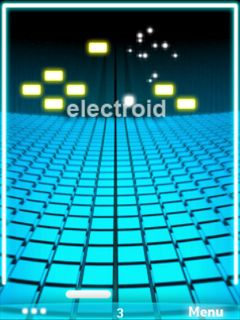 java touchscreen games: Electroid 240x320 Java Touchscreen Mobile Game