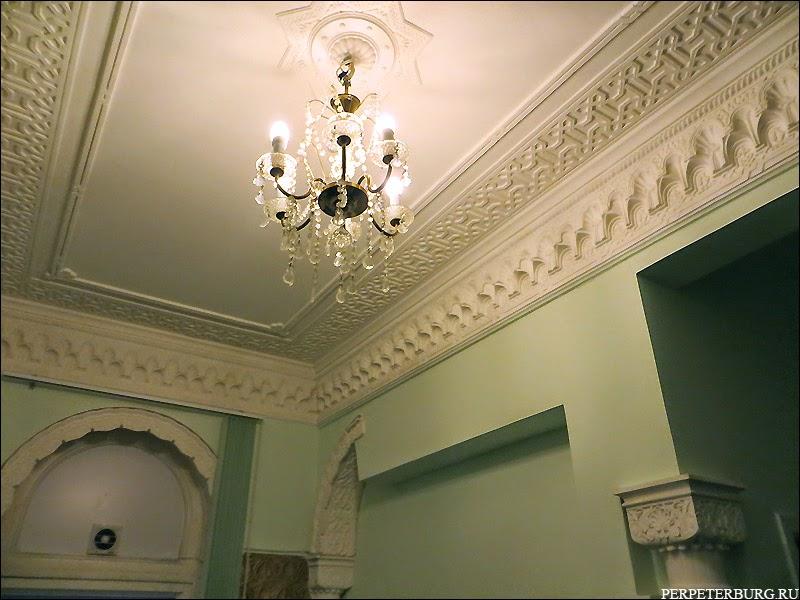 Курительная комната Бильдерлингов - фото с интерьерной экскурсии в Санкт-Петербурге