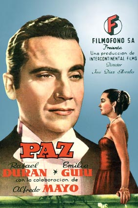 Enciclopedia del cine espa ol paz 1949 for Salon roma jose c paz