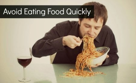 avoid eating food too quickly or swallowing instead eat slowly via geniushowto.blogspot.com step-1 How to stop burping