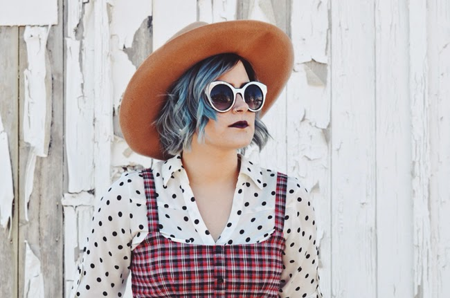 trending: plaid and polkadots