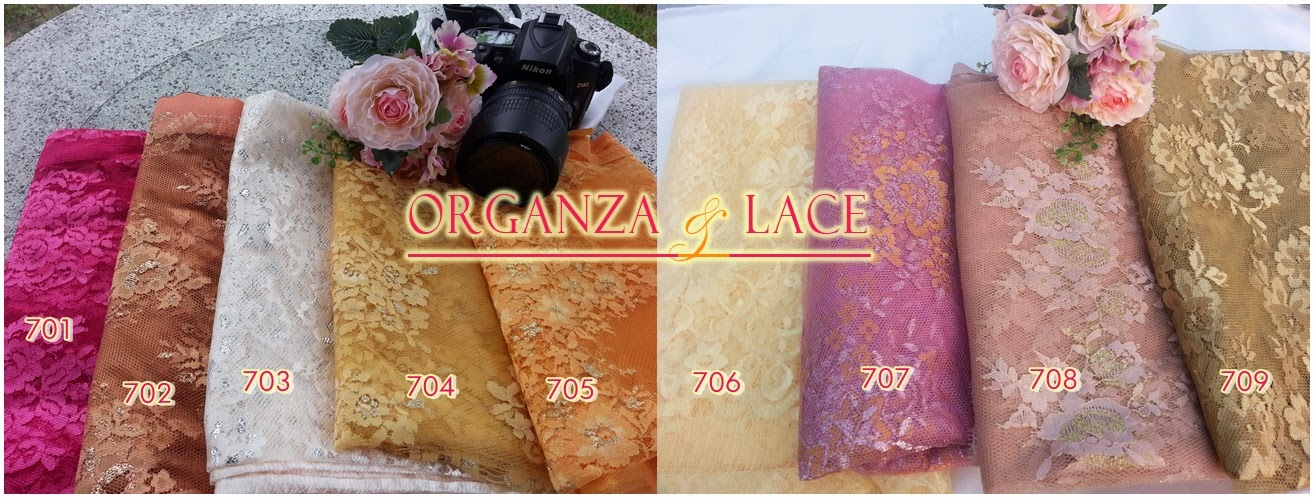 Organza and Lace - The Fabulous Fabric Store