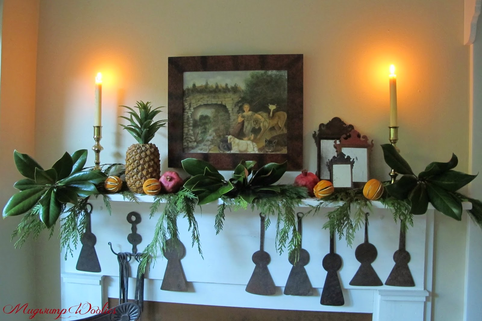 a southern colonial christmas - Colonial Christmas Decor