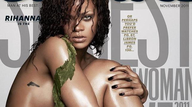 La mujer más sexy del mundo Rihanna