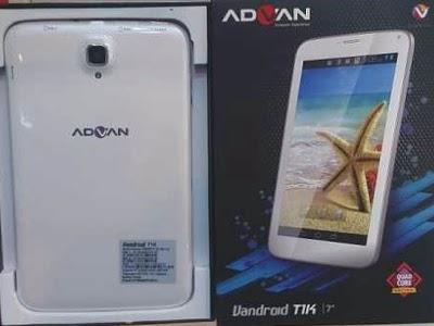 spesifikasi advan vandroid t1k tablet advan vandroid t1k ini mengusung
