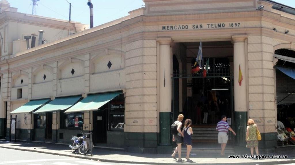 Estos Lugares Mercado De San Telmo