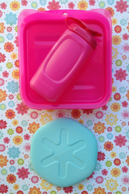 Goodbyn Mix & Match box, bottle & ice pack