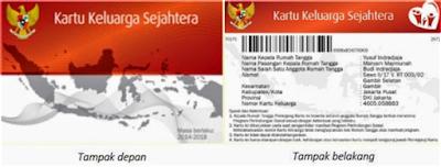 Kartu Keluarga Sejahtera (KKS)