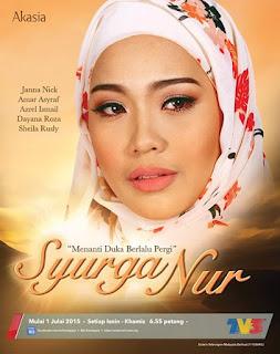Tonton Syurga Nur[2015] Full Episod 10 | moviesinfobsyokv2| Malay ...