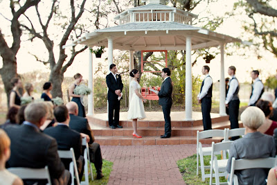 texas wedding ceremony