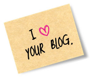 I love your blog-tunnustus