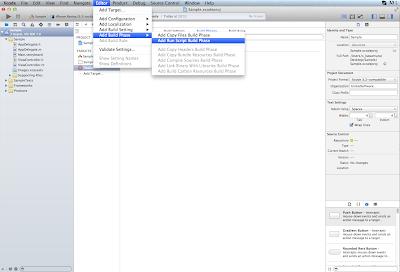 Run Script Xcode5 追加