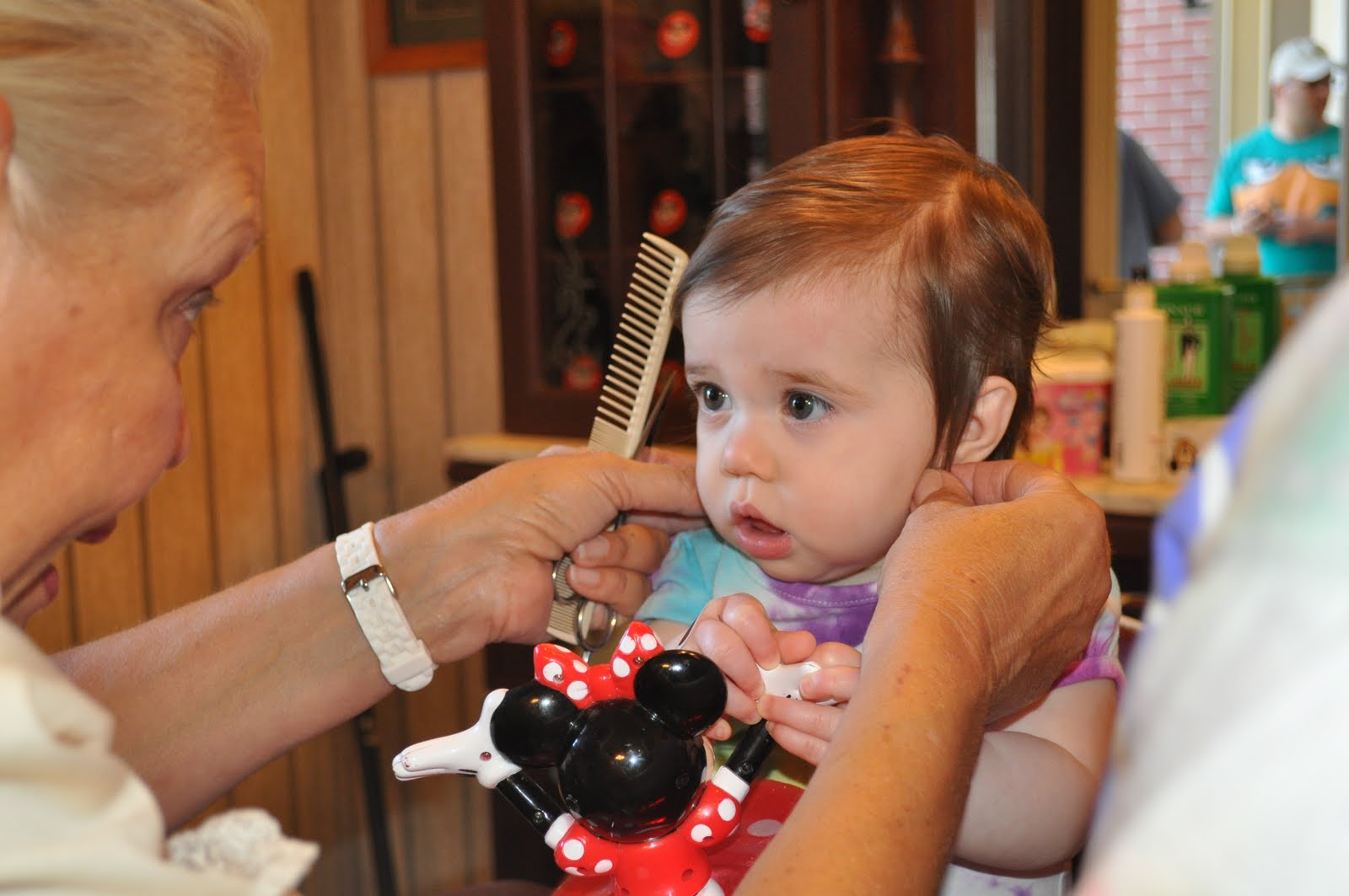 Natalie Claire My First Haircut At Disney World