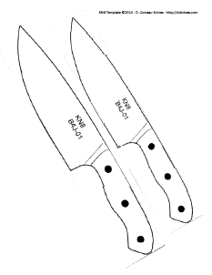 related keywords suggestions for hunting knife template. Black Bedroom Furniture Sets. Home Design Ideas