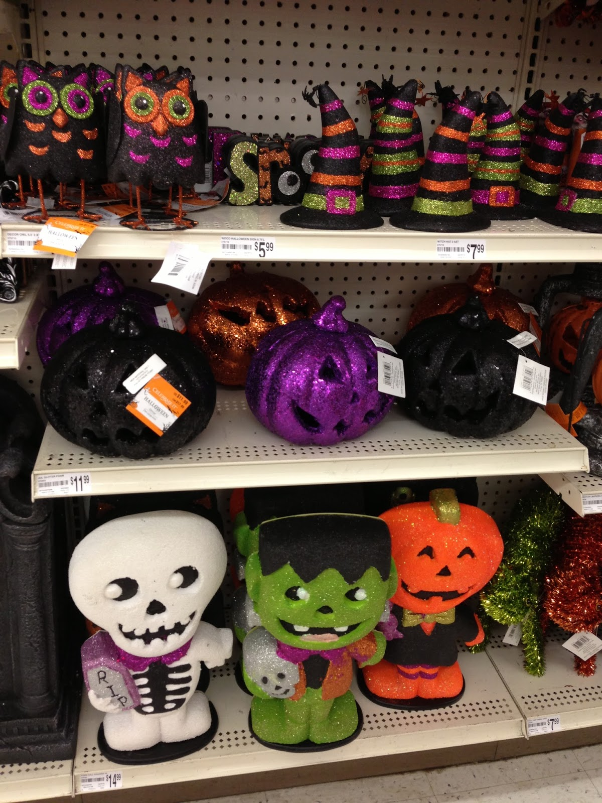 fright bites photo report halloween 2013 finds at michaels and dollar tree - Michaels Halloween Decorations