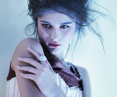 Katarina Ivanovska in Elle Serbia's Dreamland