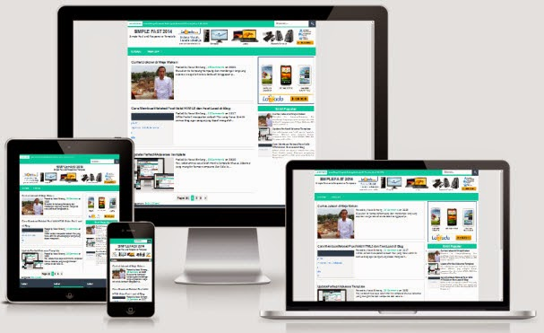 Simple Fast 2014 Responsive Blogger Template