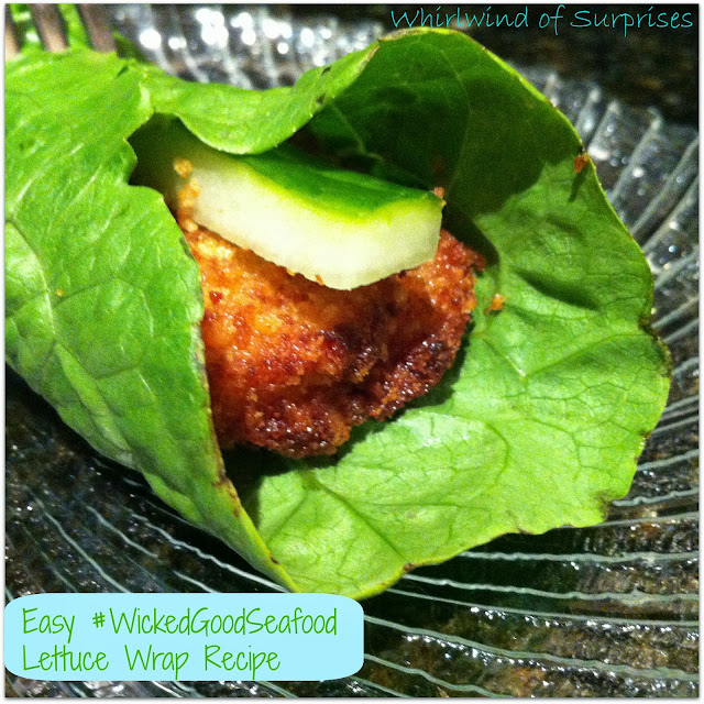 Quick meal solutions, easy lettuce wraps, seafood, recipes