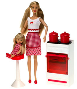 THE COOKER AND MOTHER BARBIE