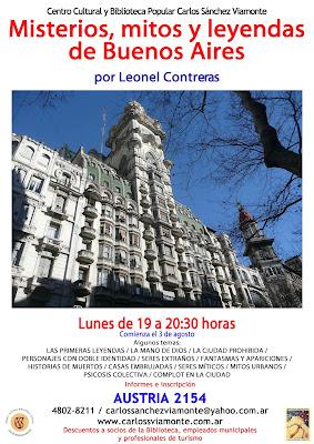 Misterios, mitos y leyendas de Buenos Aires
