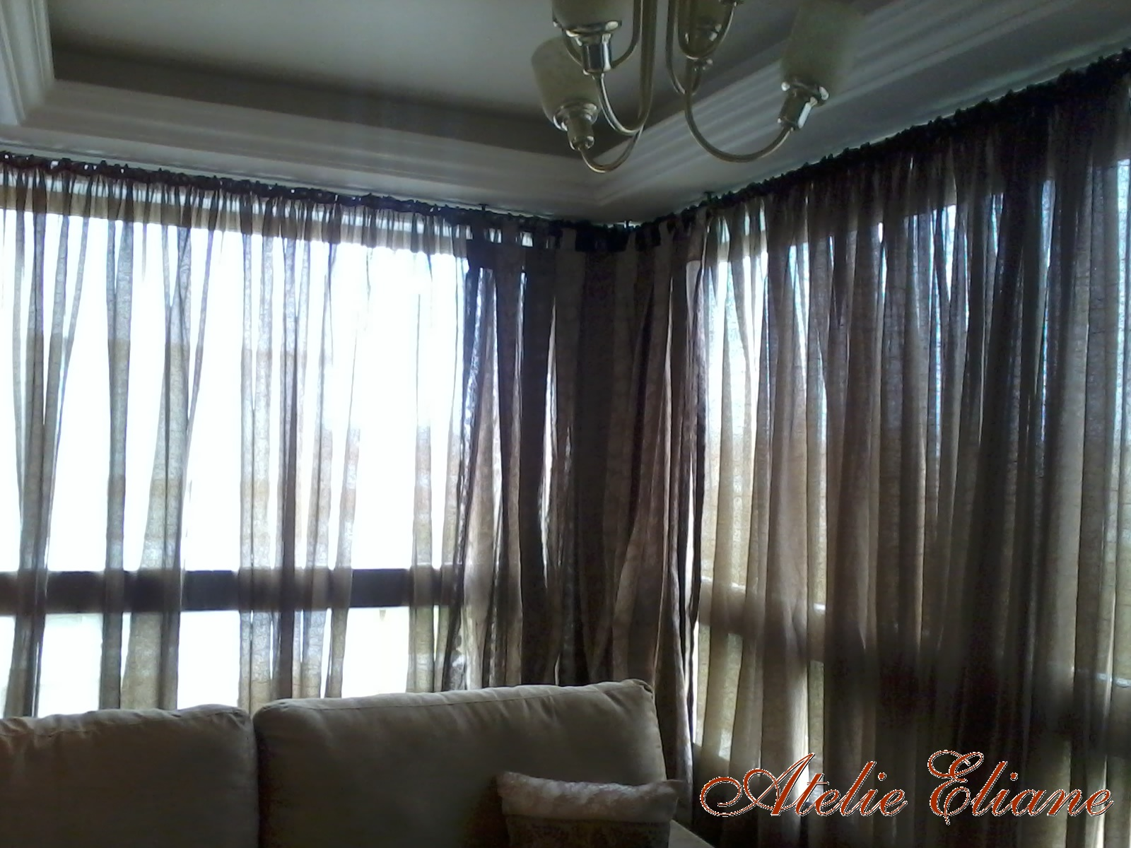 #50697B Atelieliane: Cortinas sala de estar 1600x1200 píxeis em Cortinas Chiques Para Sala De Estar