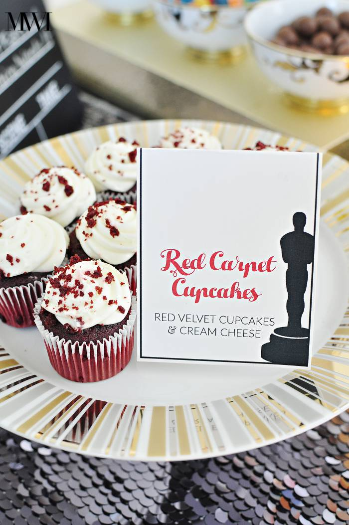 Oscar awards party ideas printable recipe