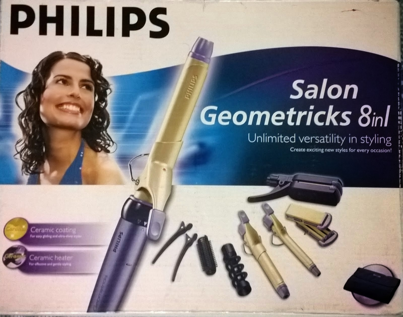 Selling Philips 8 in 1 hair styler with Ceramic coating