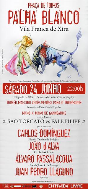 VILA FRANCA DE XIRA (PORTUGAL) 24-06-2017. 22 HORAS. TROFÉU MAESTRO VICTOR MENDES PARA O TRIUNFADOR