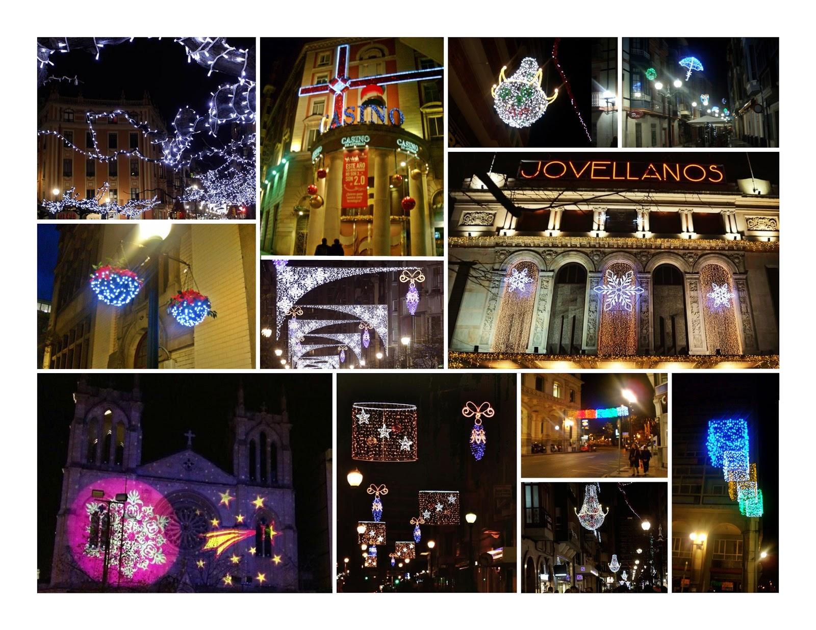 navidad christmas gijon luces alumbrado 2012