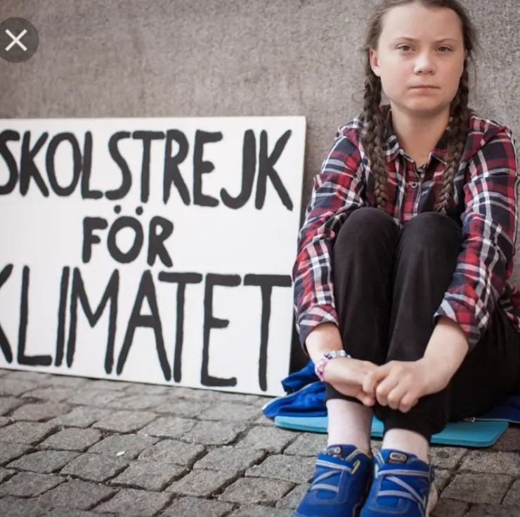 LSGIA Being Greta Thunberg (click)
