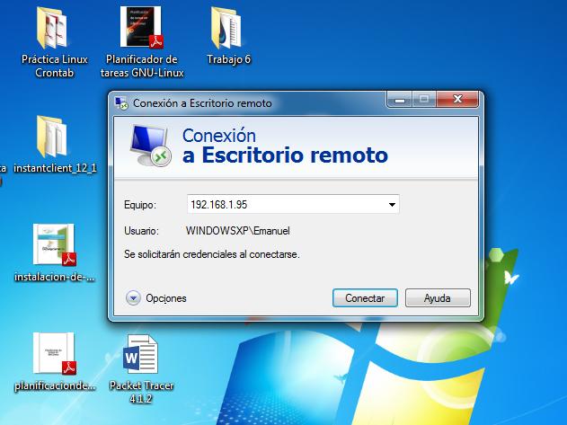 Blog a s i r administraci n remota en windows - Conexion a escritorio remoto windows xp ...