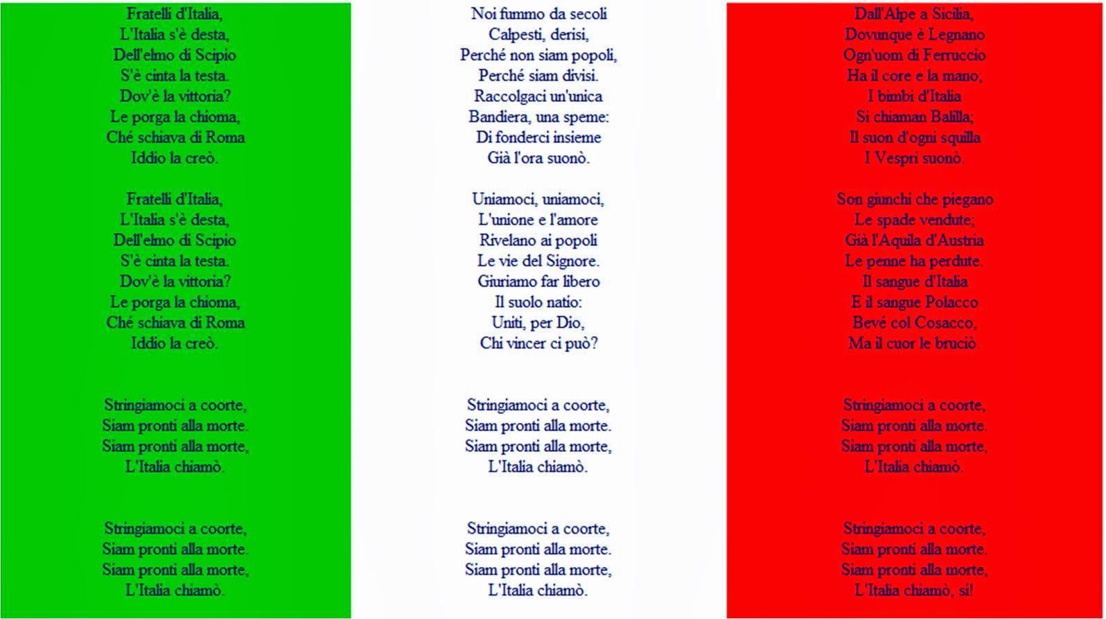 Гимн италии mp3 скачать бесплатно