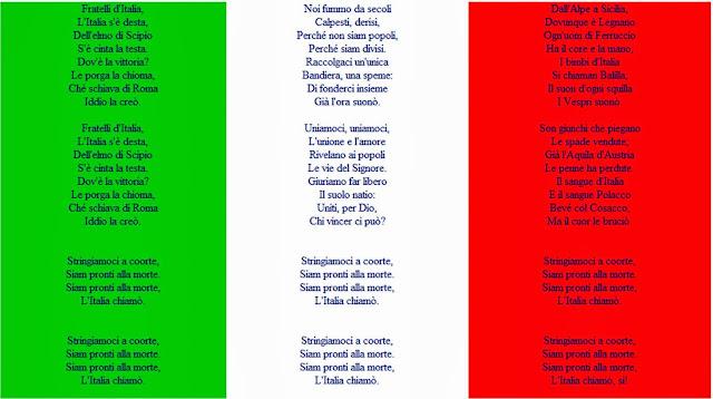 слушать гимн италии