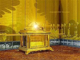 E abriu-se no céu o templo de Deus, e a arca da sua aliança foi vista no seu templo; e houve relâmpagos, e vozes, e trovões, e terremotos e grande saraiva