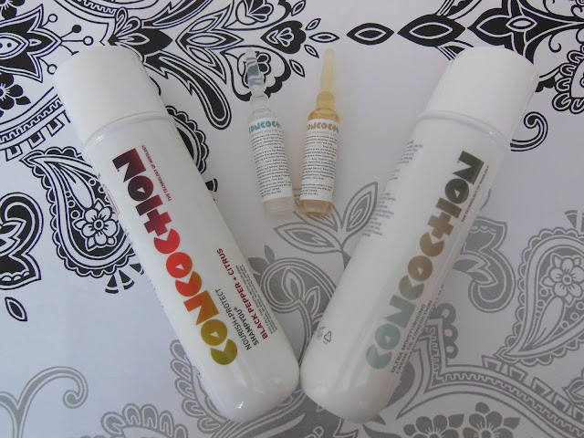 Concotion customisable shampoo