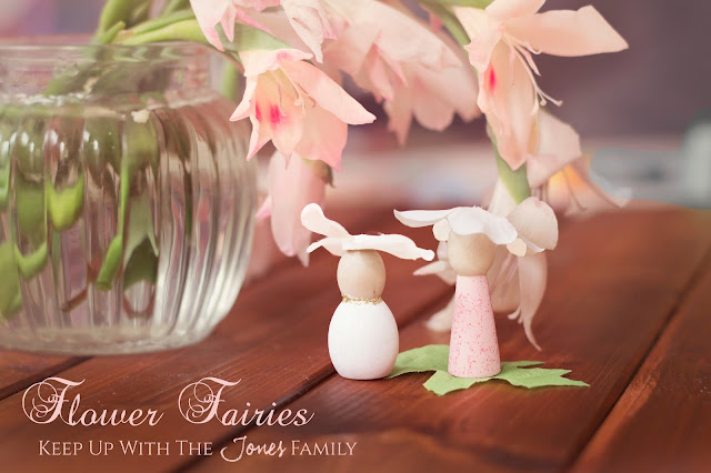 Flower Fairies craft with Bostik Bloggers for Tots100