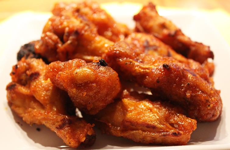 tyson deli hot wings