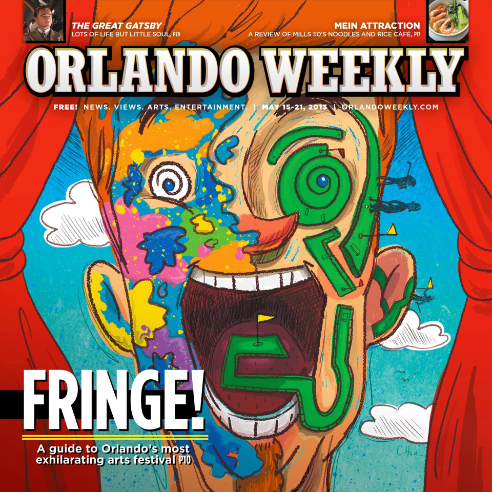Orlando Weekly Cover by Chris Hsu