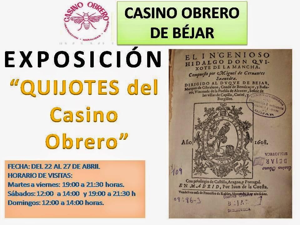 """27/abril (hasta). Exposición: """"Los Quijotes del Casino Obrero"""". Béjar"""