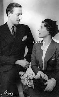 Prince Carl de Suède 1911-2003 et comtesse Elsa von Rosen 1904-1991