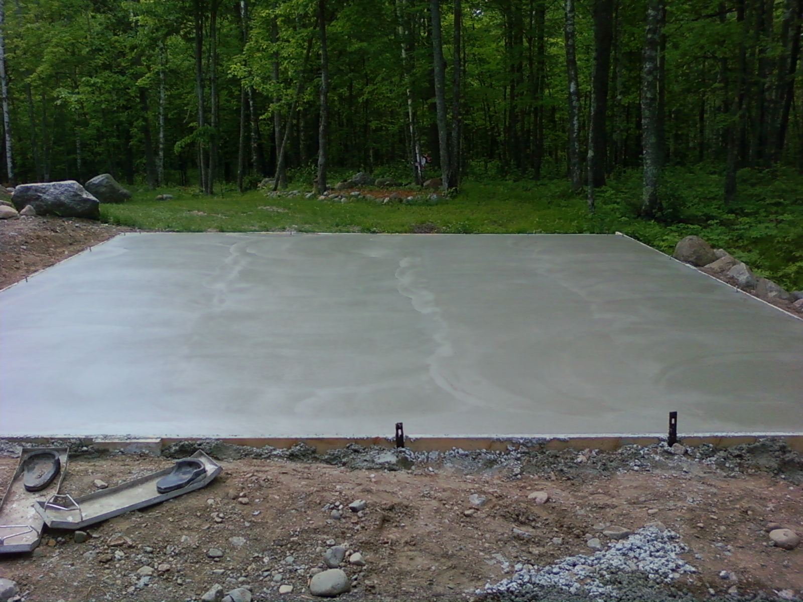 Tuthill masonry 22 39 x 24 39 garage slab for Garage slabs