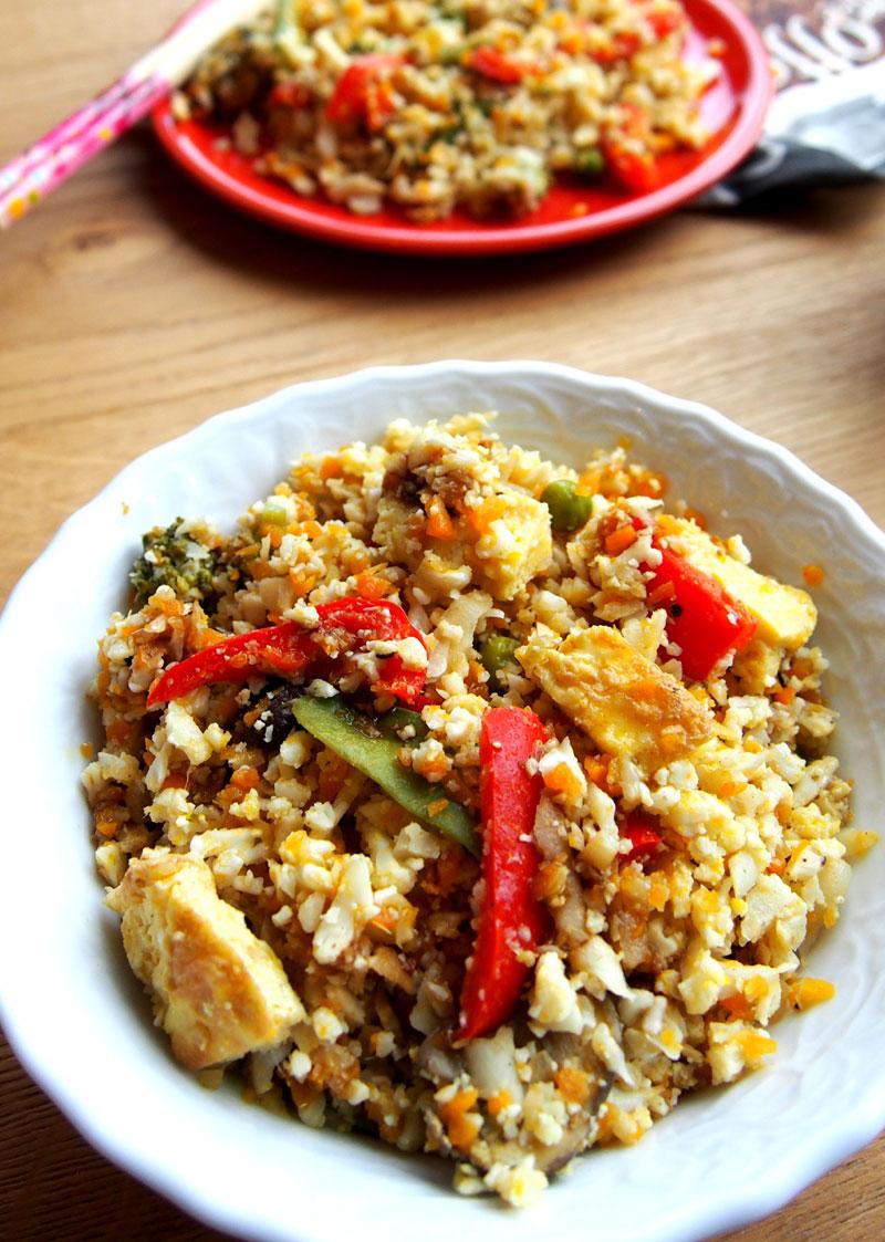 Reseptit: Terveellinen kukkakaali phad thai