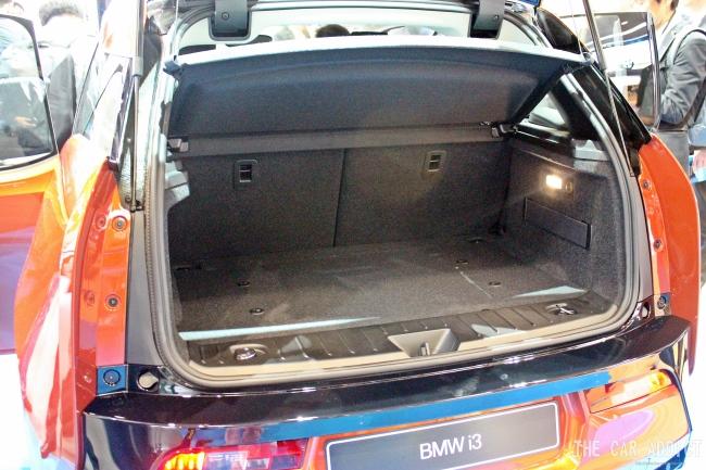 BMW i3 Trunk