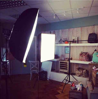 Nica's photoshoot for new high summer handbag collection