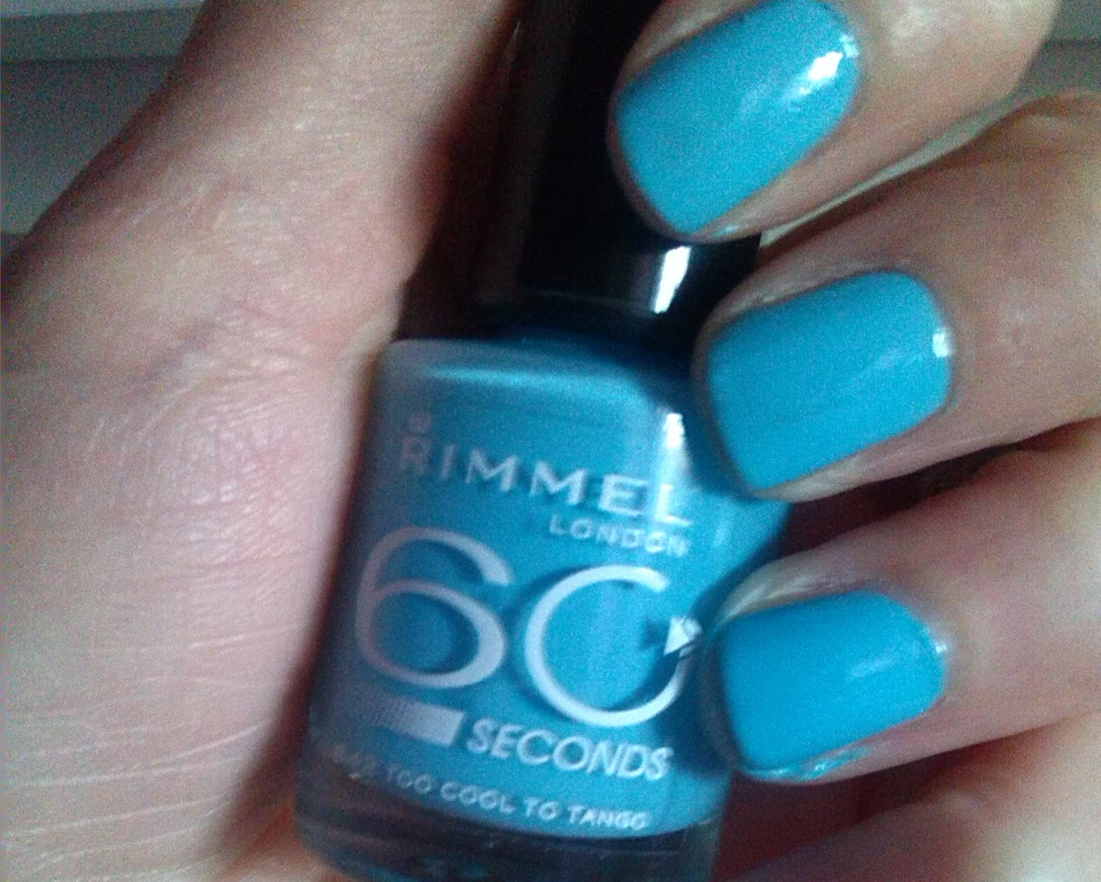 Rimmel Nail Polish in Too Cool To Tango