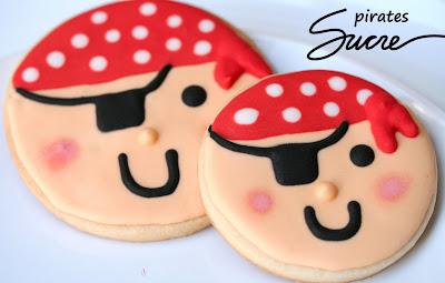 galetes decorades pirata, galletas decoradas pirata, infantil