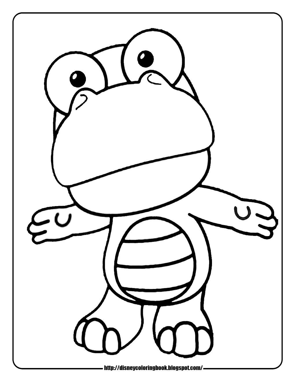 Pororo The Little Penguin 2 Free Disney Coloring Sheets