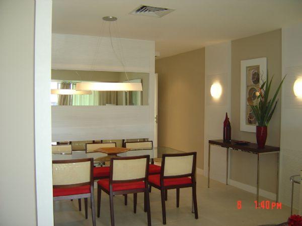 Como decorar com espelhos?  Aroma e Artesanatos  -> Decoração De Sala De Jantar Simples