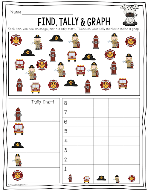 Graphing Worksheets Kindergarten - this is a winter hat theme graphing ...
