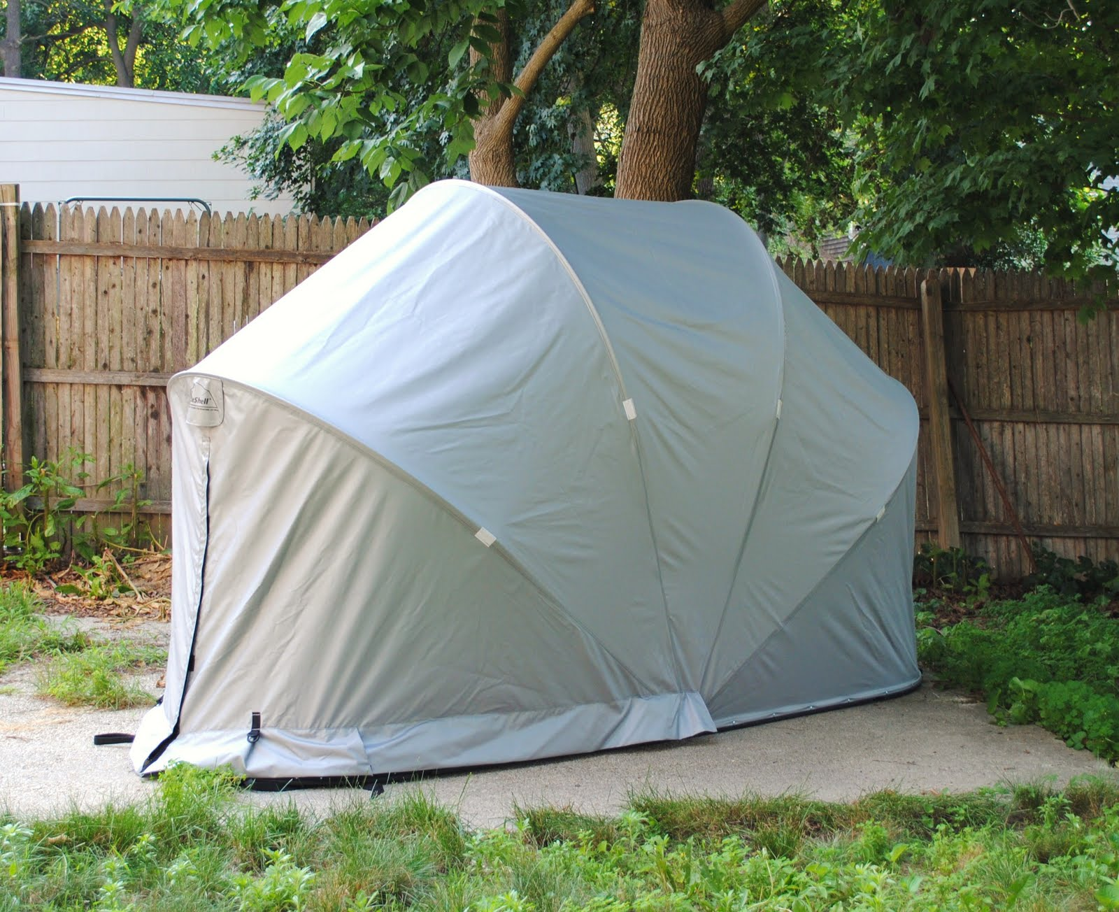Motorcycle Portable Garages And Shelters : Shybiker everybody needs a home